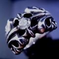 クロムハーツK&Tリング1ダイヤ