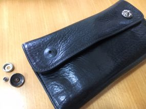 クロムハーツの財布、修理前