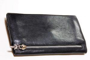 修理後の財布